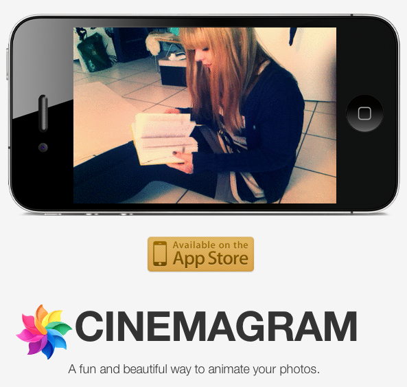 cinegram iphone application